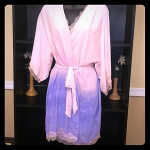 Victoria's Secret Cami/Robe Lingerie Set